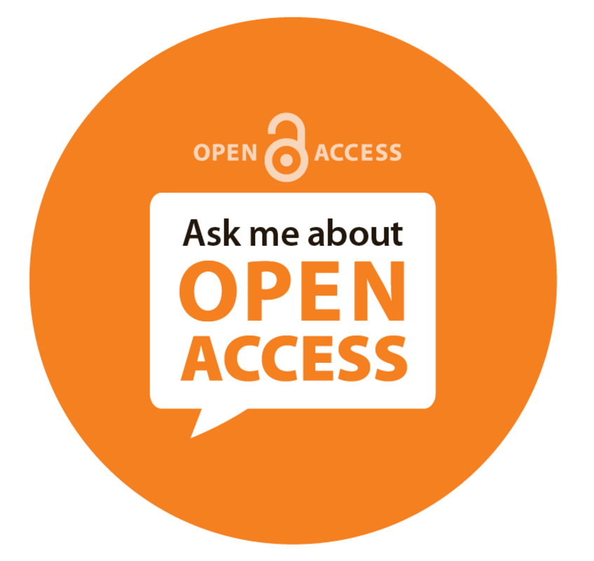 Grafik Ask me about open access